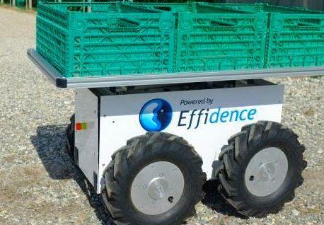 Le robot « Effibot » : partager les courriers sans difficulté